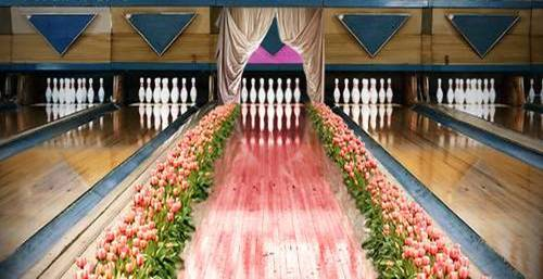 pink bowling alley