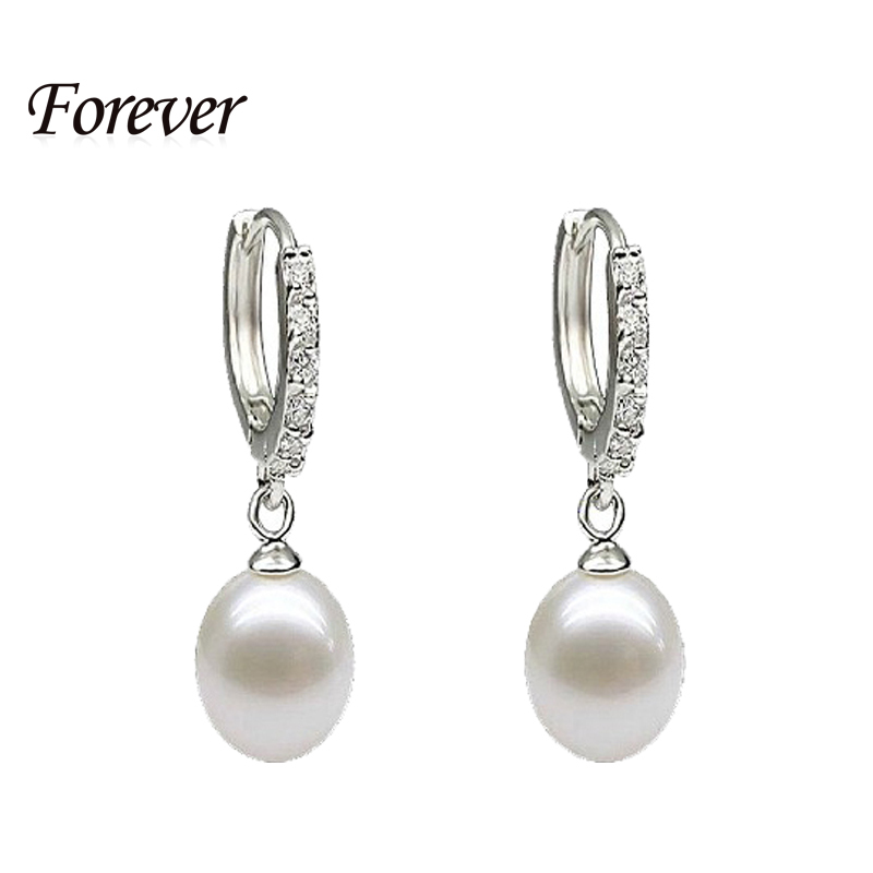 e36be505356d7 100% genuine brand pearl jewelry natural pearl earrings cultured freshwater  pearls with 925 silver ,earring women girl best gift
