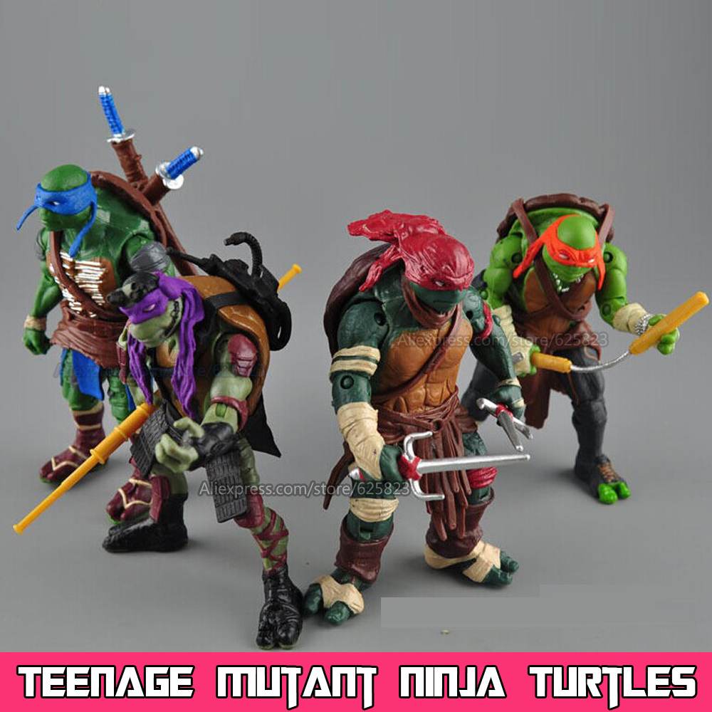 Turtle Toys For Turtles : New neca toy pieces lot teenage mutant ninja
