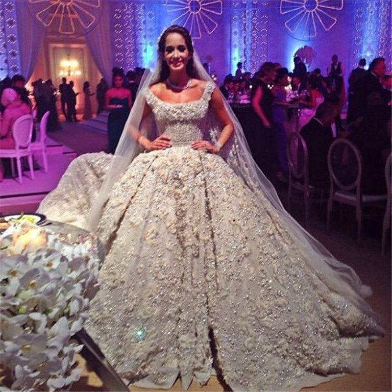 Vintage 2014 Lace Wedding Dresses Champagne Sweetheart Appliques ...