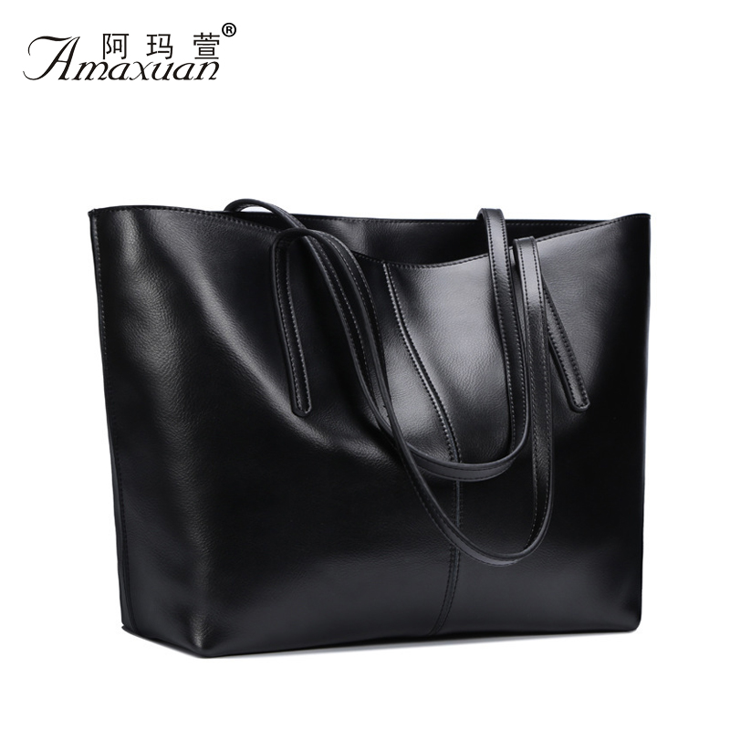 8c2f9647a72 Genuine Leather Bag New Women leather Handbags Famous Brand women messenger  Bags Ladies Shoulder Bag Bolsos Mujer 2015 new BH804