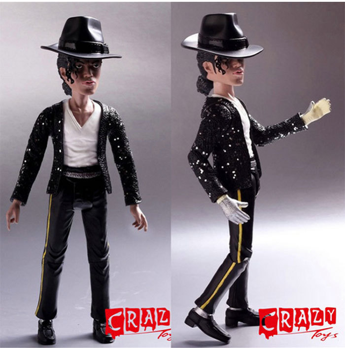 Free shipping new arrival high quality action figures for Jackson toys
