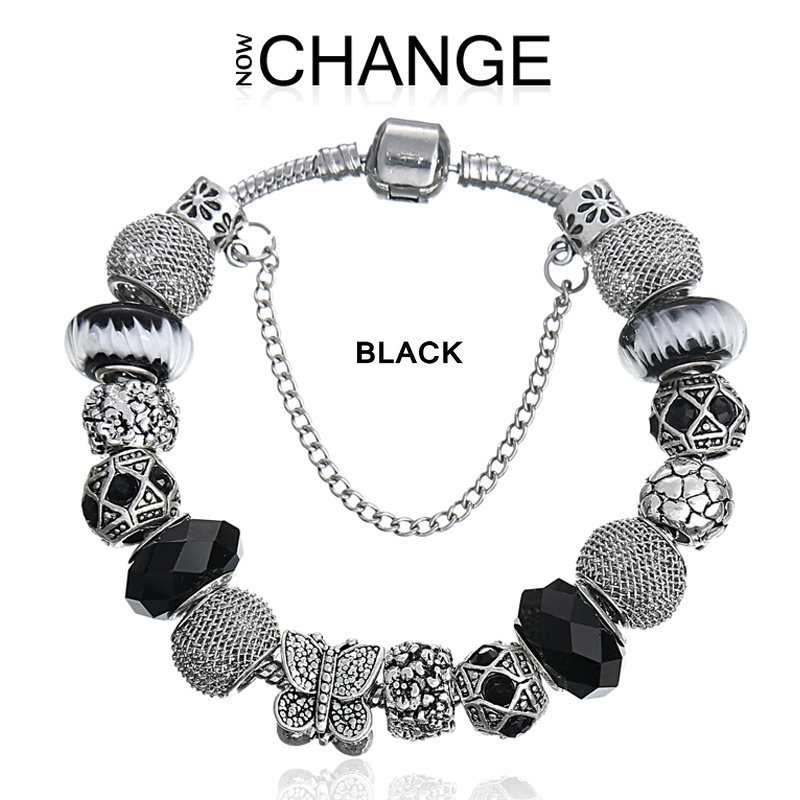 7e794a8ff0e91 2015 Top quality summer style wholesale aliexpress charm beads fit pandora  bracelets for women with a gift bag