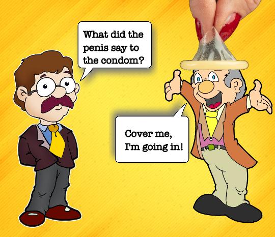 funny condom jokes