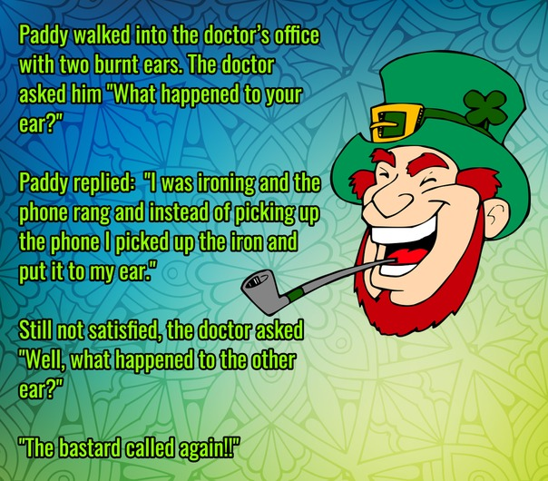 Irishman Goes To His Doctor